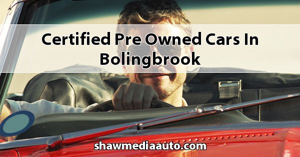 Certified Pre-Owned Cars in Bolingbrook