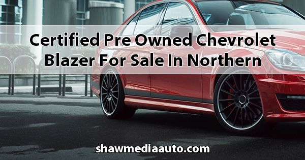 Certified Pre-Owned Chevrolet Blazer for sale in Northern Illinois