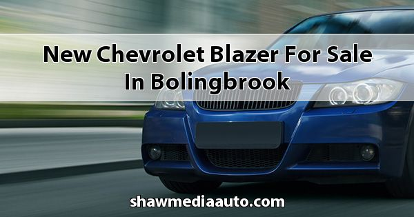 New Chevrolet Blazer for sale in Bolingbrook