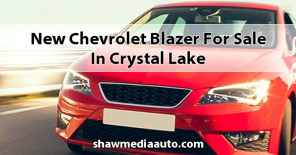 New Chevrolet Blazer for sale in Crystal Lake