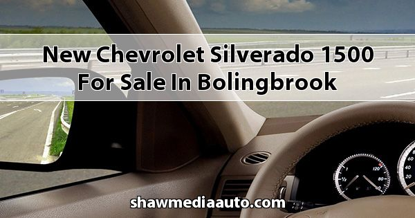 New Chevrolet Silverado 1500 for sale in Bolingbrook