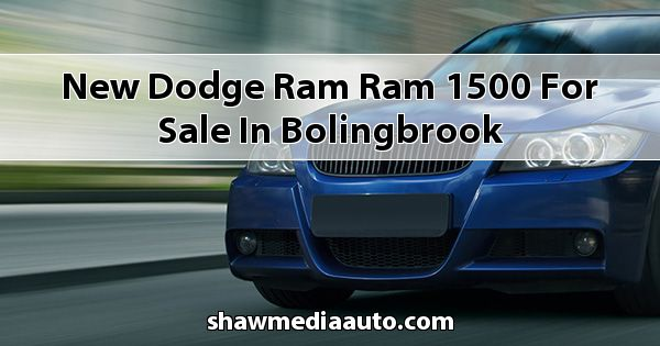New Dodge RAM Ram 1500 for sale in Bolingbrook