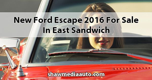 New Ford Escape 2016 for sale in East Sandwich