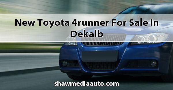 New Toyota 4Runner for sale in Dekalb