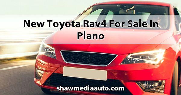 New Toyota RAV4 for sale in Plano