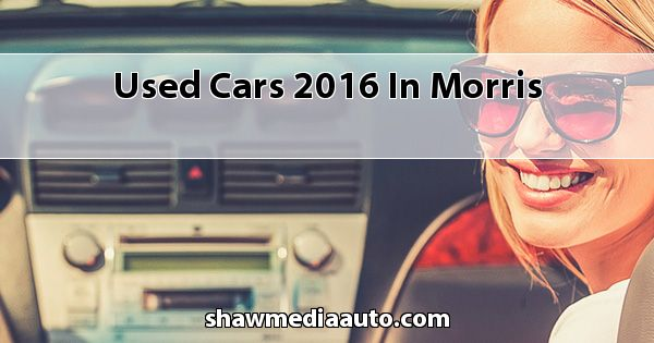 Used Cars 2016 in Morris