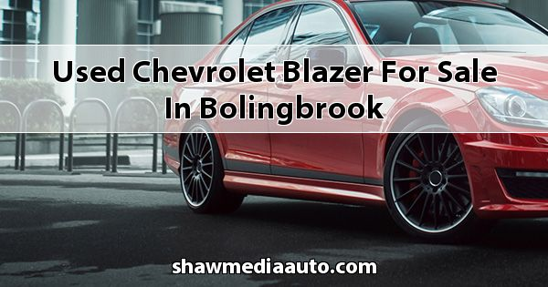 Used Chevrolet Blazer for sale in Bolingbrook