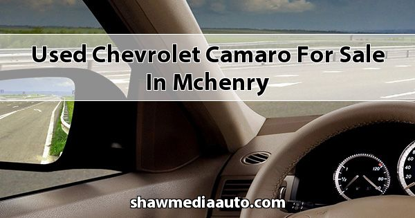 Used Chevrolet Camaro for sale in Mchenry