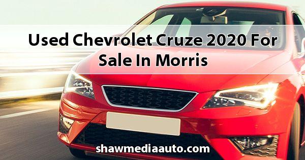 Used Chevrolet Cruze 2020 for sale in Morris