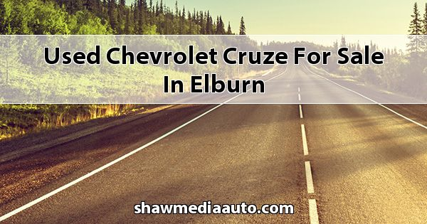 Used Chevrolet Cruze for sale in Elburn
