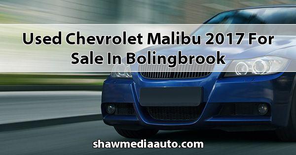 Used Chevrolet Malibu 2017 for sale in Bolingbrook
