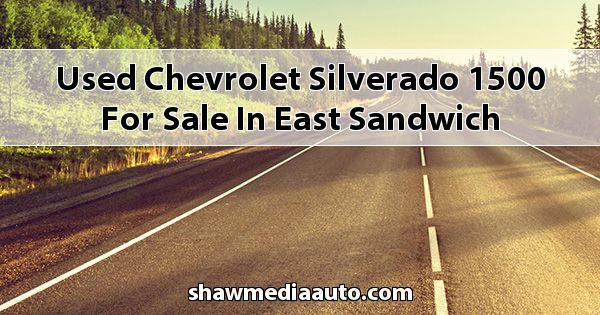Used Chevrolet Silverado 1500 for sale in East Sandwich