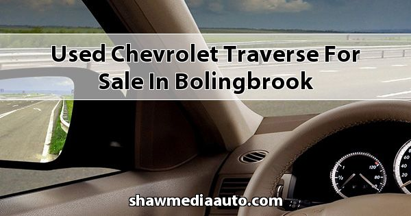 Used Chevrolet Traverse for sale in Bolingbrook