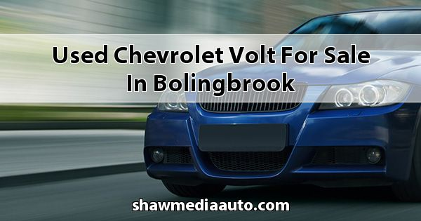 Used Chevrolet Volt for sale in Bolingbrook