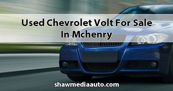 Used Chevrolet Volt for sale in Mchenry