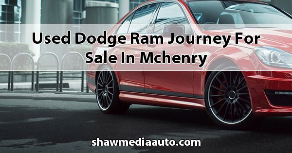 Used Dodge RAM Journey for sale in Mchenry