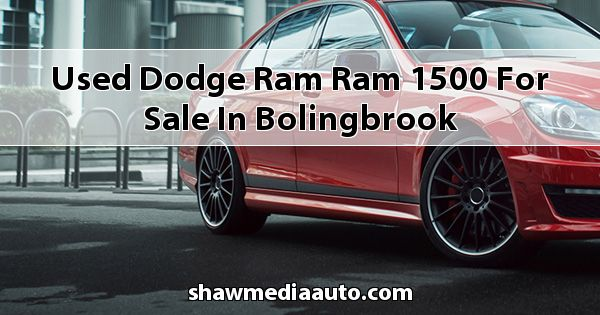 Used Dodge RAM Ram 1500 for sale in Bolingbrook