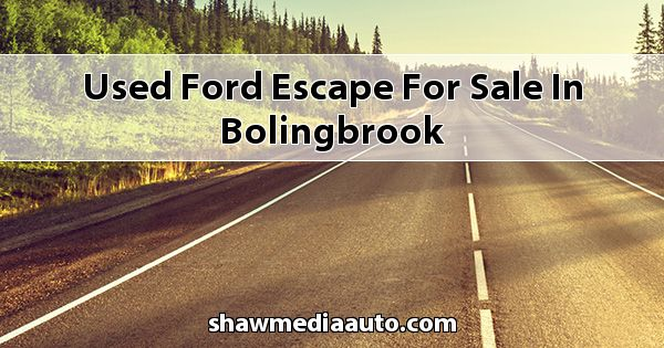 Used Ford Escape for sale in Bolingbrook