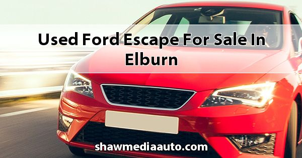 Used Ford Escape for sale in Elburn