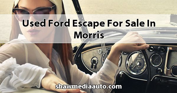Used Ford Escape for sale in Morris
