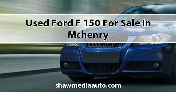 Used Ford F-150 for sale in Mchenry