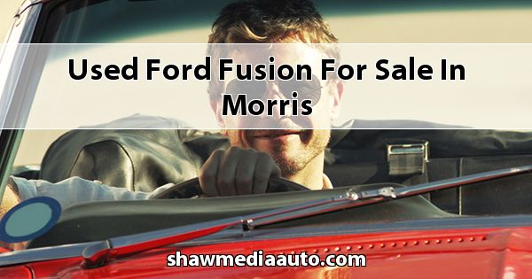 Used Ford Fusion for sale in Morris