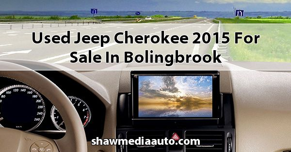 Used Jeep Cherokee 2015 for sale in Bolingbrook