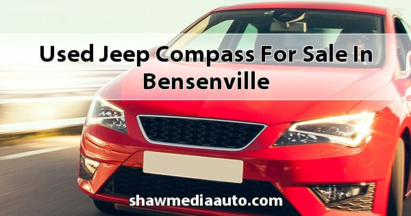 Used Jeep Compass for sale in Bensenville