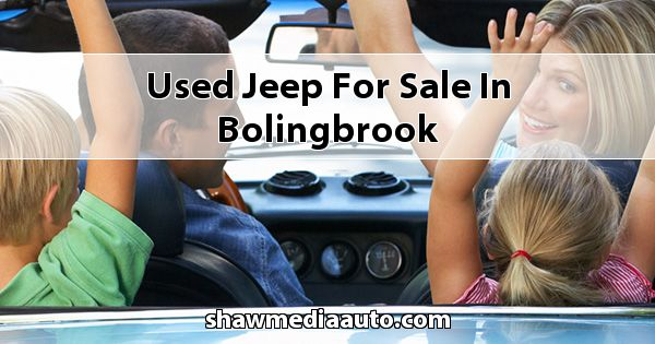 Used Jeep for sale in Bolingbrook