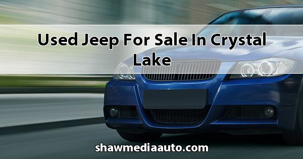 Used Jeep for sale in Crystal Lake
