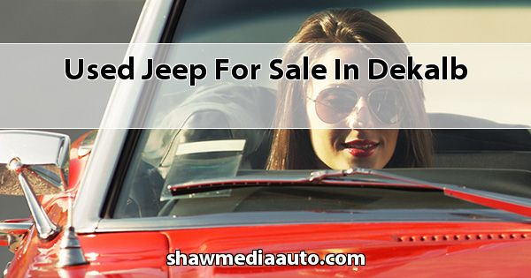 Used Jeep for sale in Dekalb