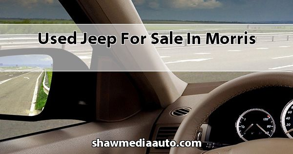 Used Jeep for sale in Morris