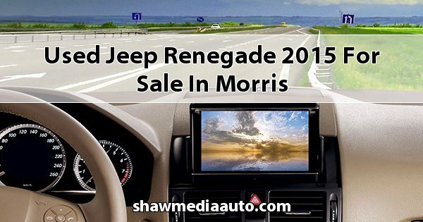 Used Jeep Renegade 2015 for sale in Morris