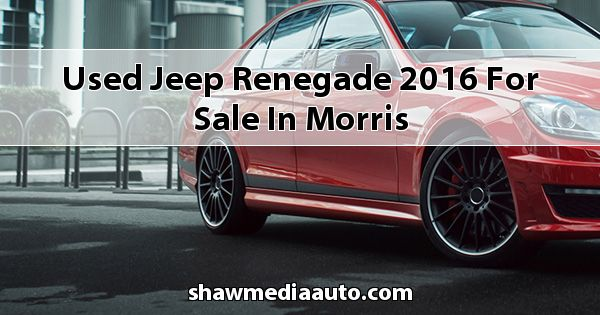 Used Jeep Renegade 2016 for sale in Morris