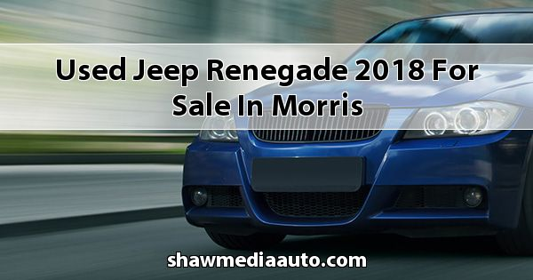 Used Jeep Renegade 2018 for sale in Morris