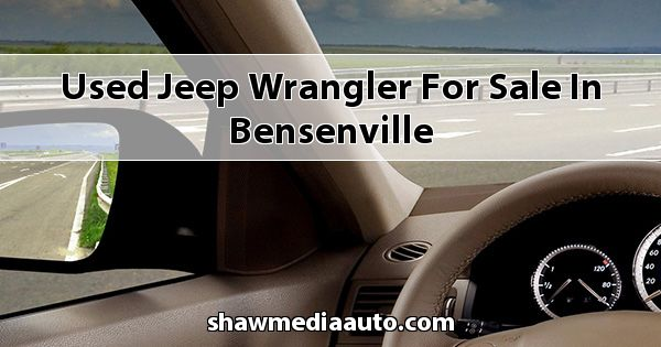 Used Jeep Wrangler for sale in Bensenville