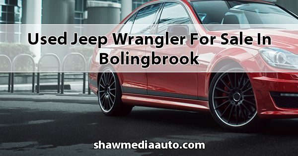 Used Jeep Wrangler for sale in Bolingbrook