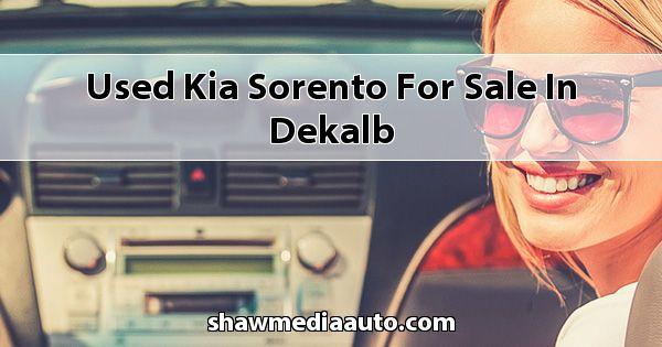 Used Kia Sorento for sale in Dekalb