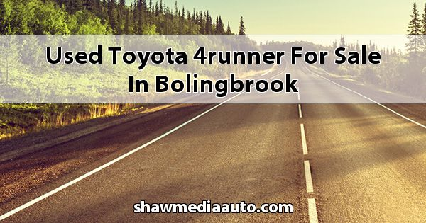 Used Toyota 4Runner for sale in Bolingbrook
