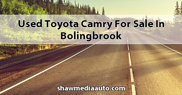 Used Toyota Camry for sale in Bolingbrook