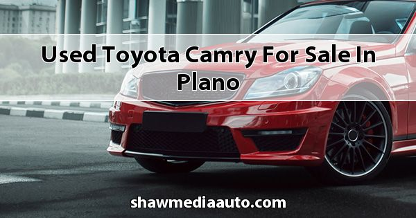 Used Toyota Camry for sale in Plano