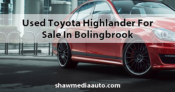 Used Toyota Highlander for sale in Bolingbrook
