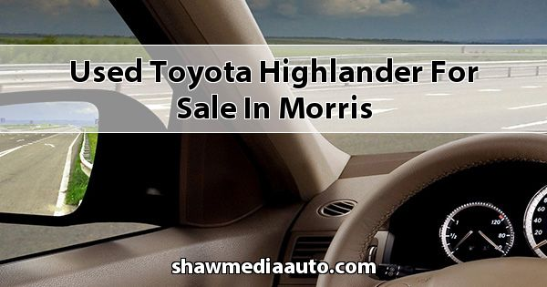 Used Toyota Highlander for sale in Morris