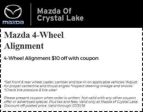 Mazda 4-Wheel Alignment