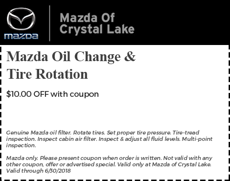 Mazda Oil Change & tire Rotation