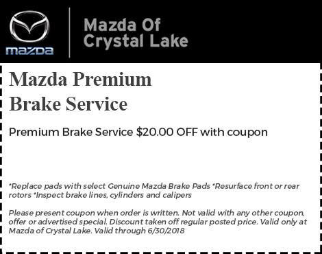 Mazda Premium Brake Service