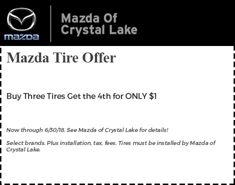 Mazda Tire Offer