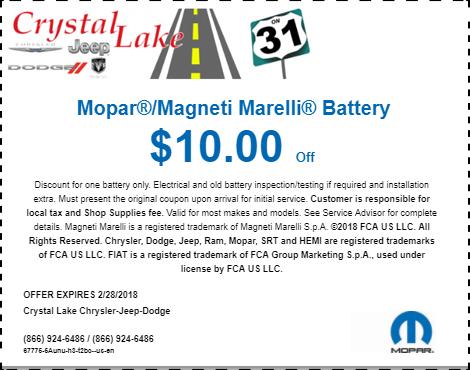 Mopar Magneti Marelli Battery